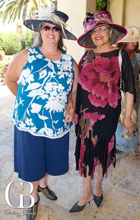 Suzanne Johnson and Sandra Graff