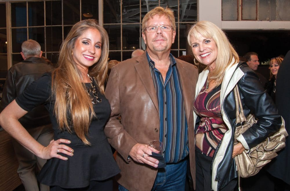 Suzette Olea, Terry Smith and Kathy Mays