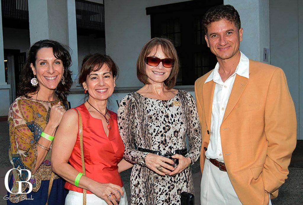 Suzette Obergfell  Giovanna Iaffaldano  Nancy Montalvo and Dragan Giurici