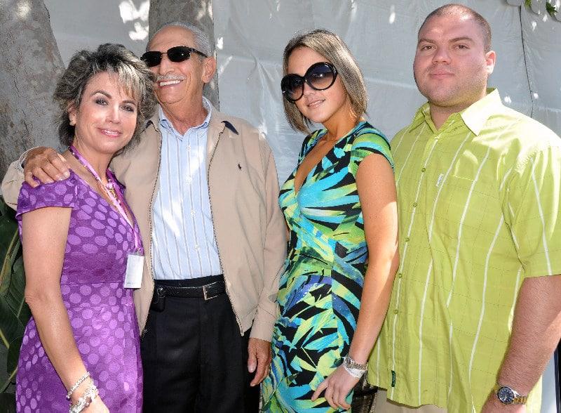 Sylvia, Joe and Danett Gardon with Jesus Bucardo.JPG