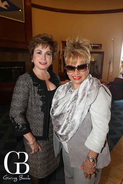Sylvia Gardon y Ana Berta Bracamontes
