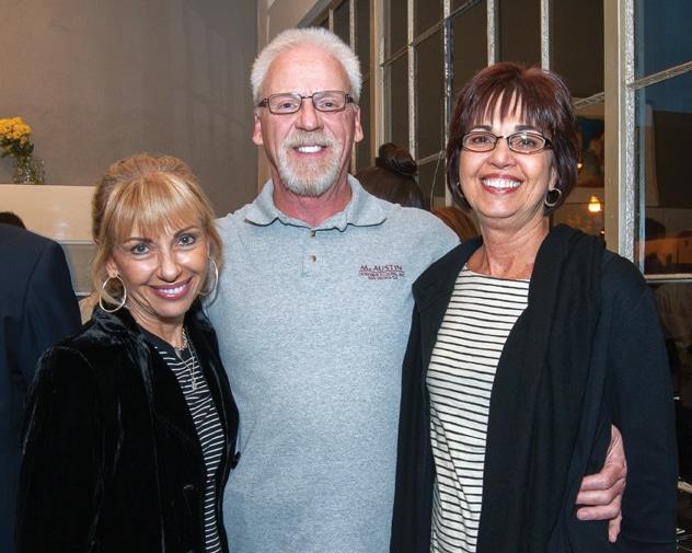 Tamara Bonafede, Ron Alleger and Brenda Myers
