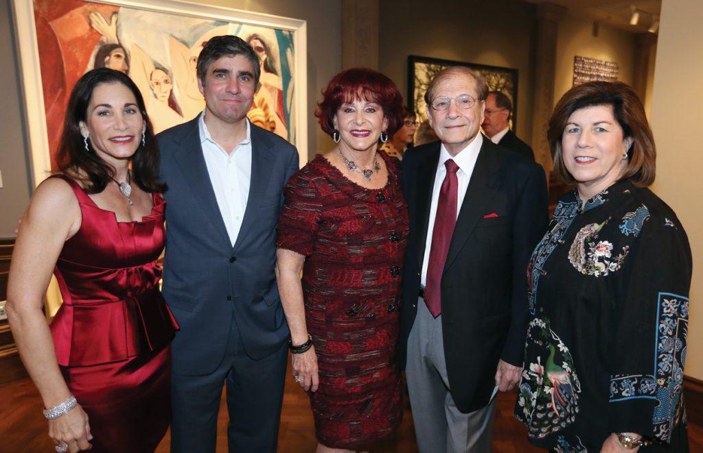 Tamara Strauss, Derrick Cartwright, Matthew and Iris Strauss with Mary Lyons +.JPG