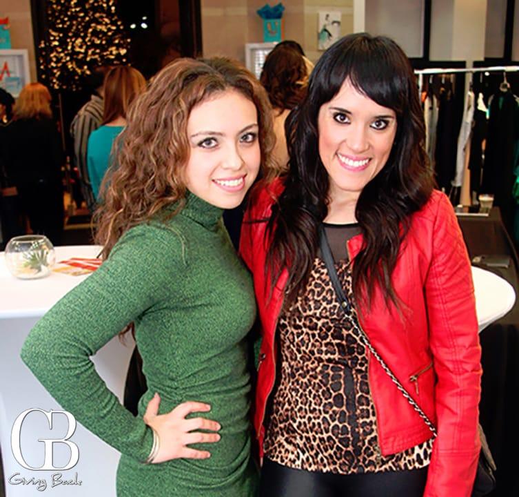 Tania Flores and Zarella Garcia