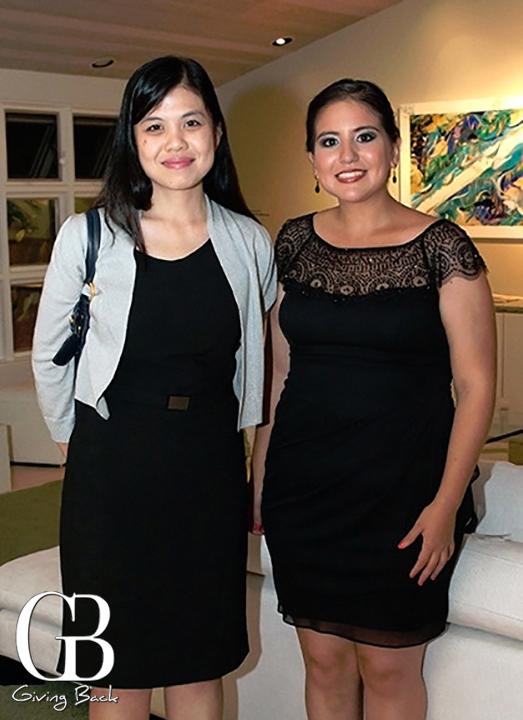 Tania Koh and Thania Herrera