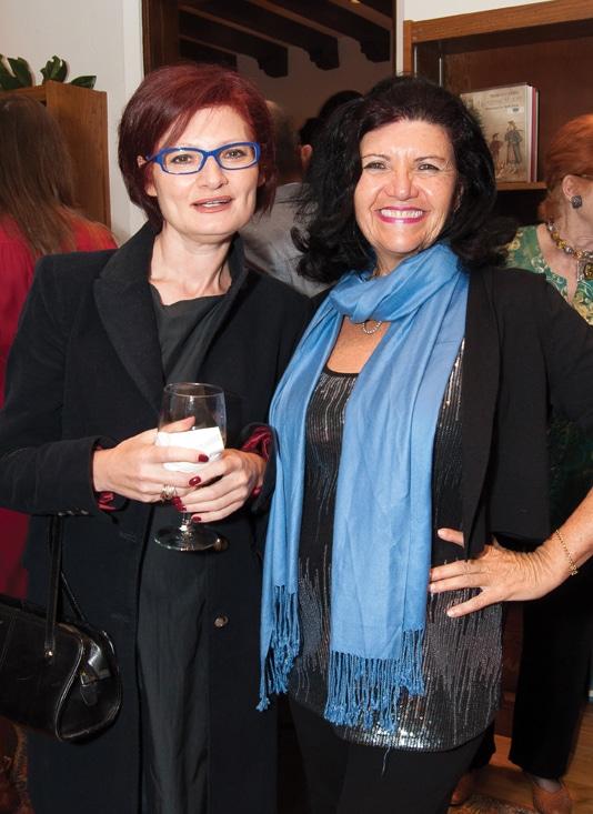 Tatiana Zunshine and Chantal Roche