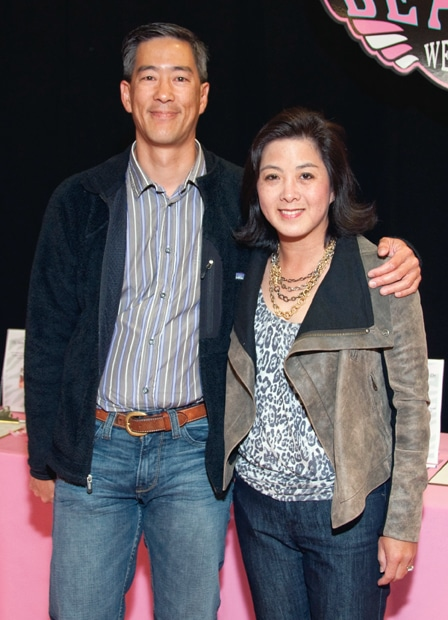 Ted Chang and Alice Mo