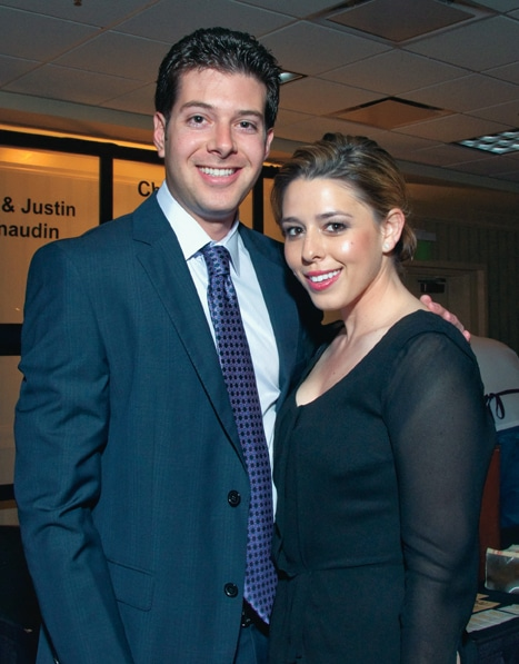 Ted Jacobs and Ashley Reitzin
