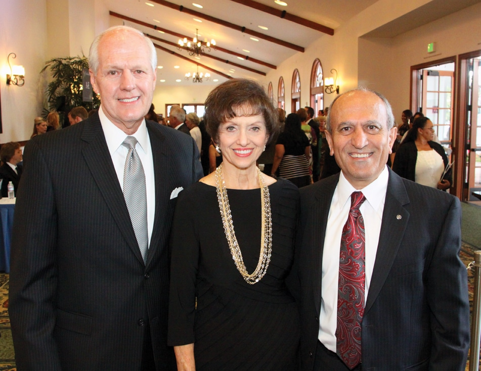 Ted and Kathleen Owen with Sam Abed.JPG