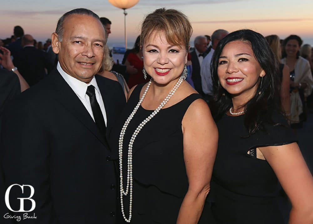 Ted and Lidia S. Martinez with Patty Chavez