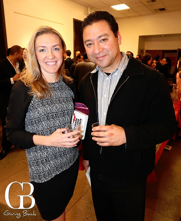 Tekura Kelley y Gustavo Rodriguez