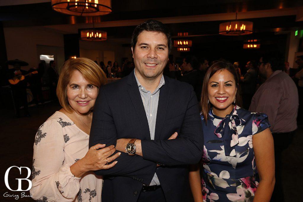 Teresa Boswell  Mauricio Palacios and Odette Gutierrez