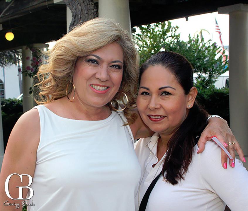 Teresa Eguiluz and Trinidad Heredia