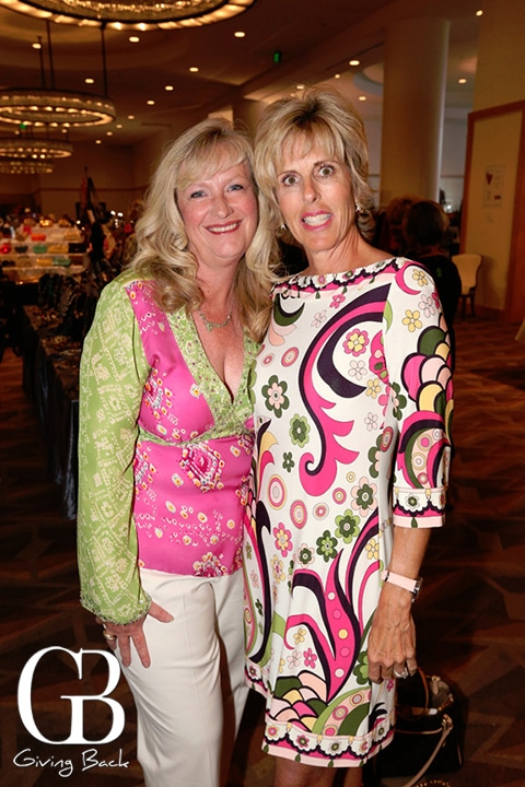 Terri Shives and Liz Copley