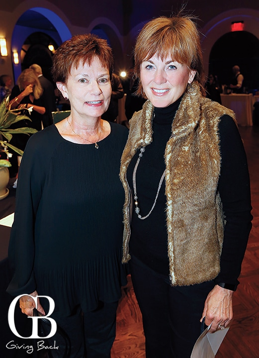 Terrie Woods and Beb Mangerich