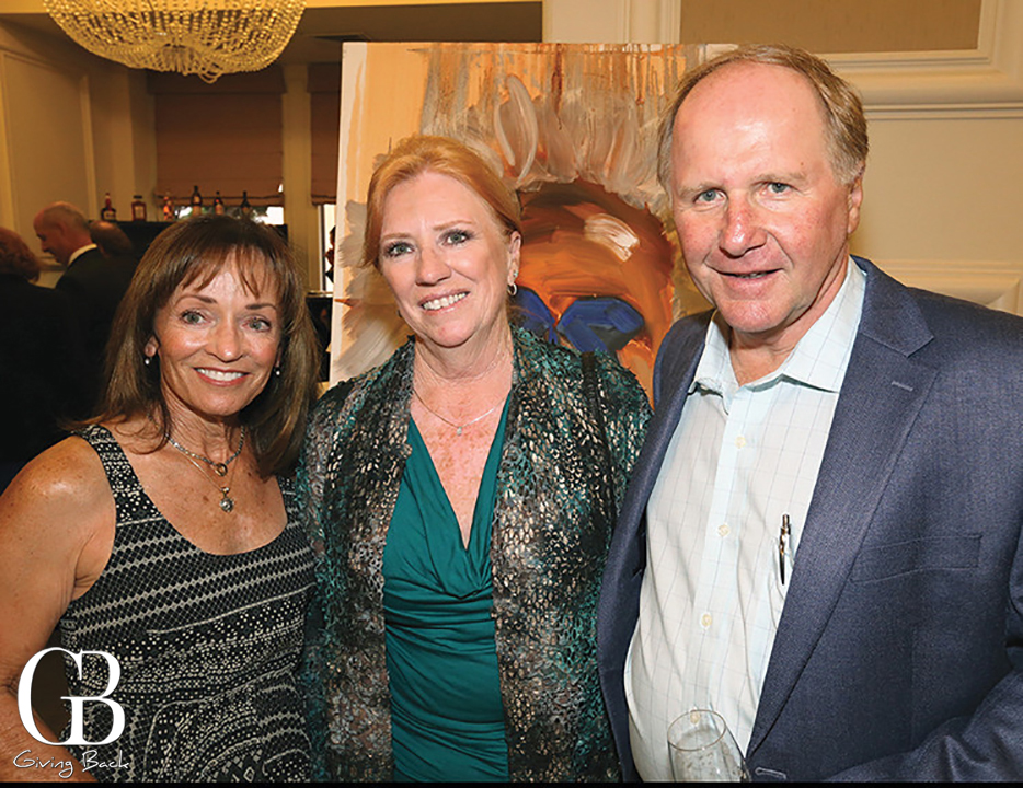 Terry Karras with Lori and Brian Weaver