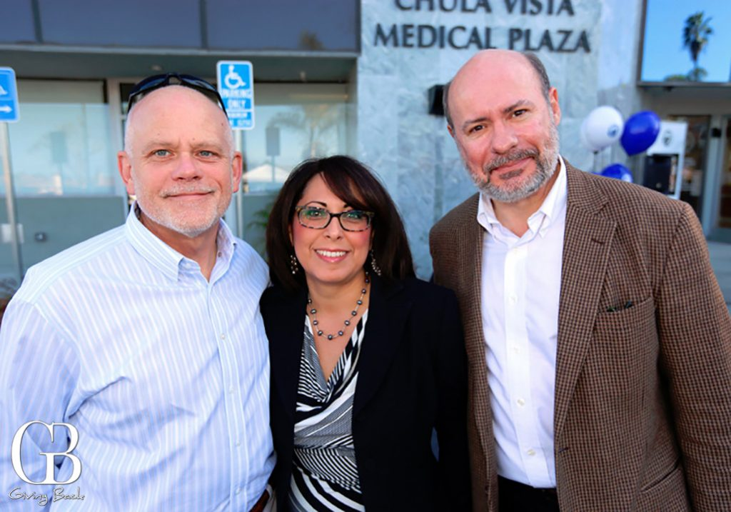 Terry Whitaker  Ana Mengoli and Richard Dial