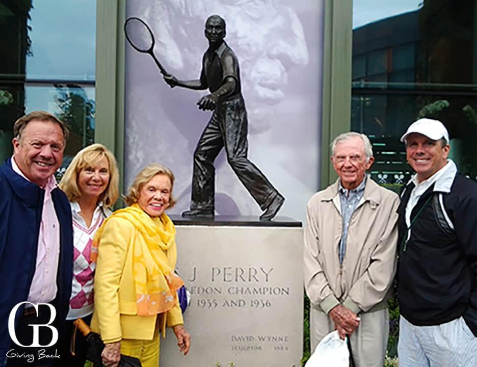 The Applebys at Wimbledon