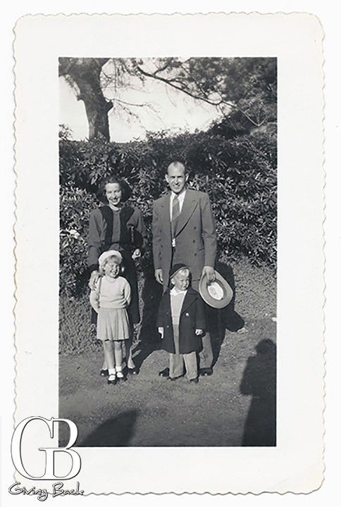 The Herney Family together in Chula Vista in  after war s end