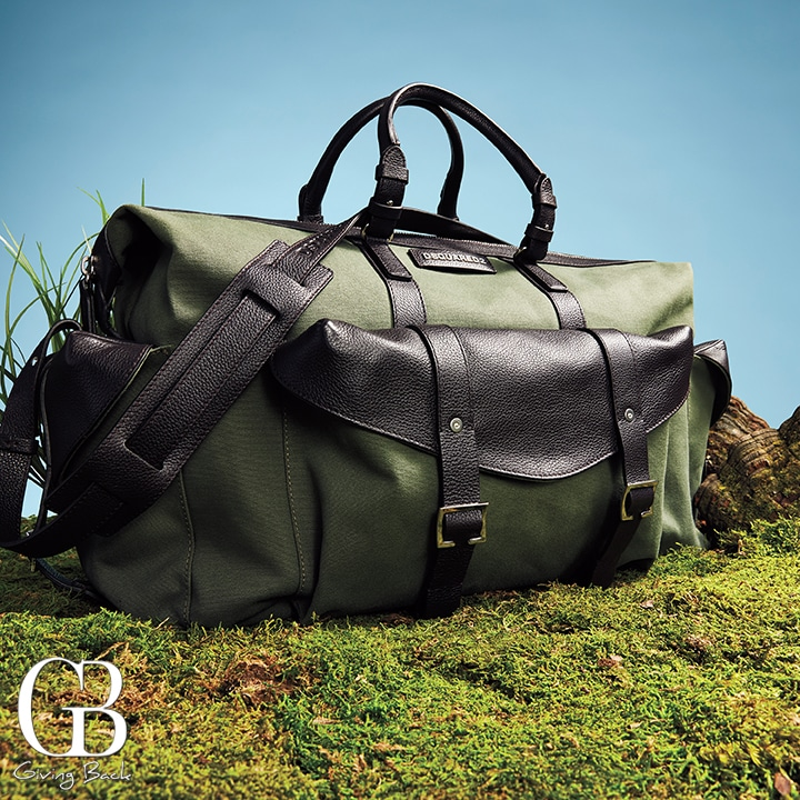 The Perfect Weekend Bag in durable  lightweight cotton canvas