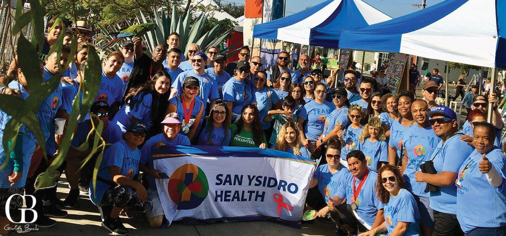 The SYH Team at AIDS Walk   Run