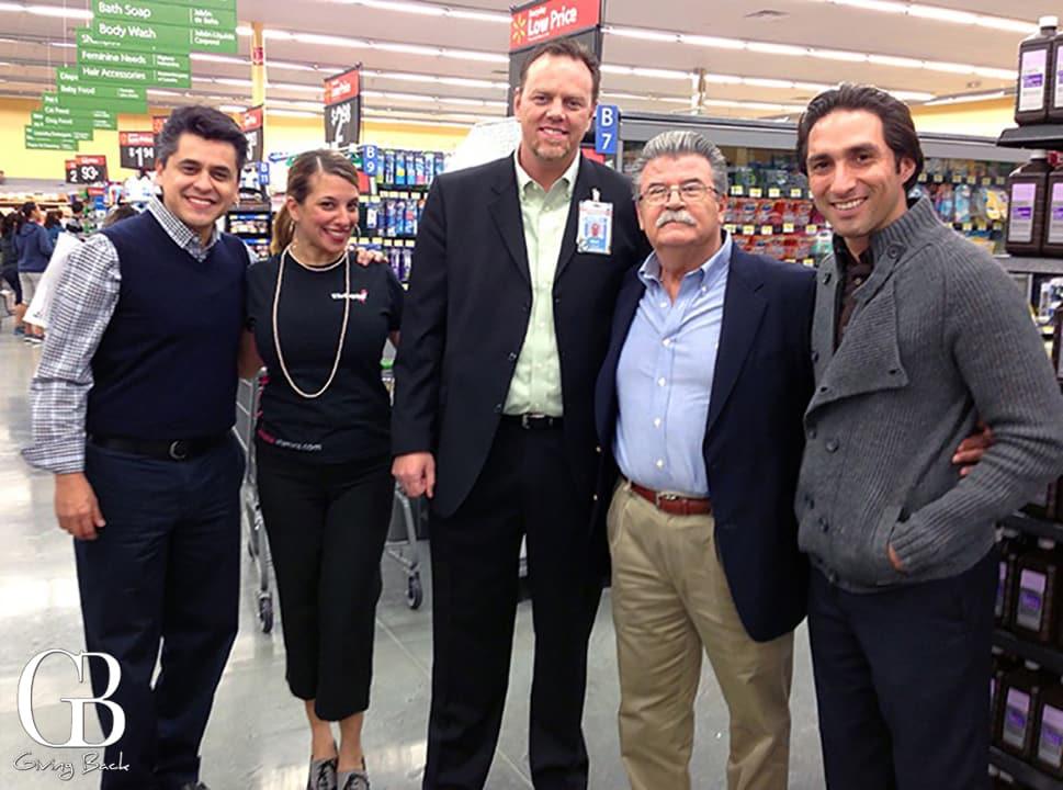 The Vivioptal Team in Walmart