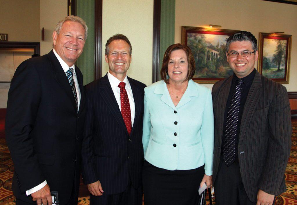 Thomas Currie, Ruben Barrales, Cindy Gomber Graves and Efrain Ybarra.JPG