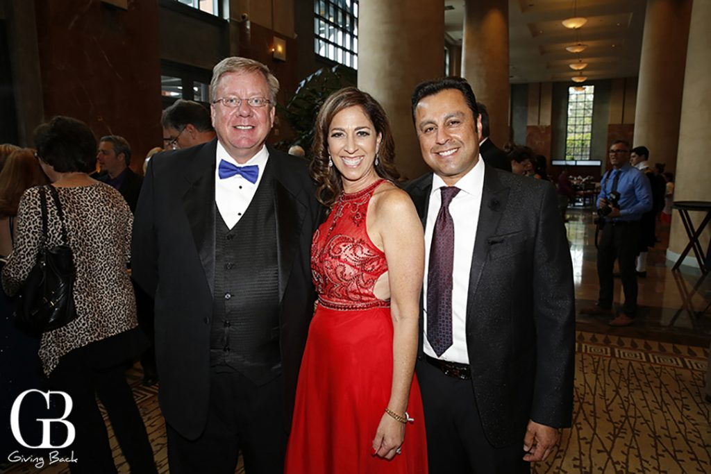 Thomas Jensen with Lisa and Raul Delgadillo
