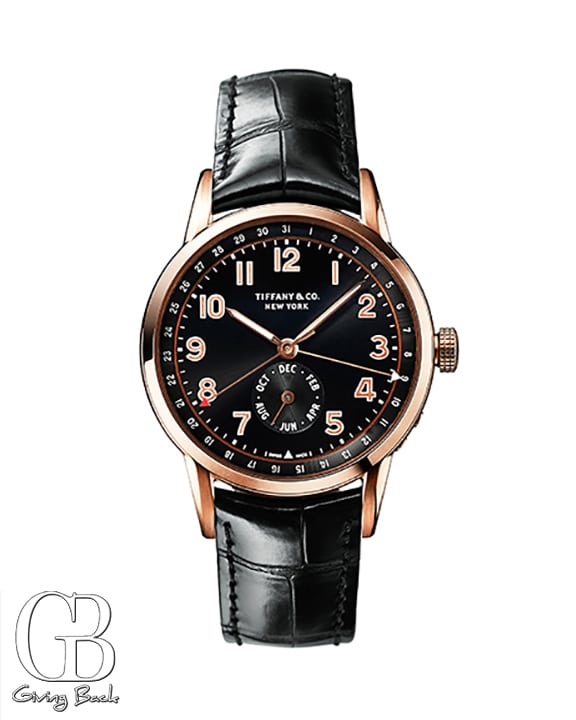 Tiffany CT Annual Calendar Watch in k Rose Gold