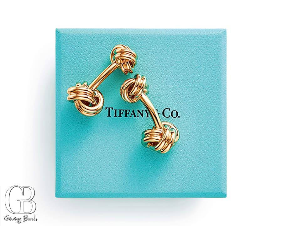 Tiffany Knot cuff links