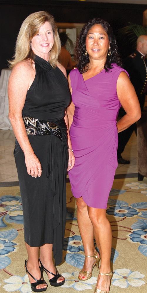 Tisa Beck and Susan Giles