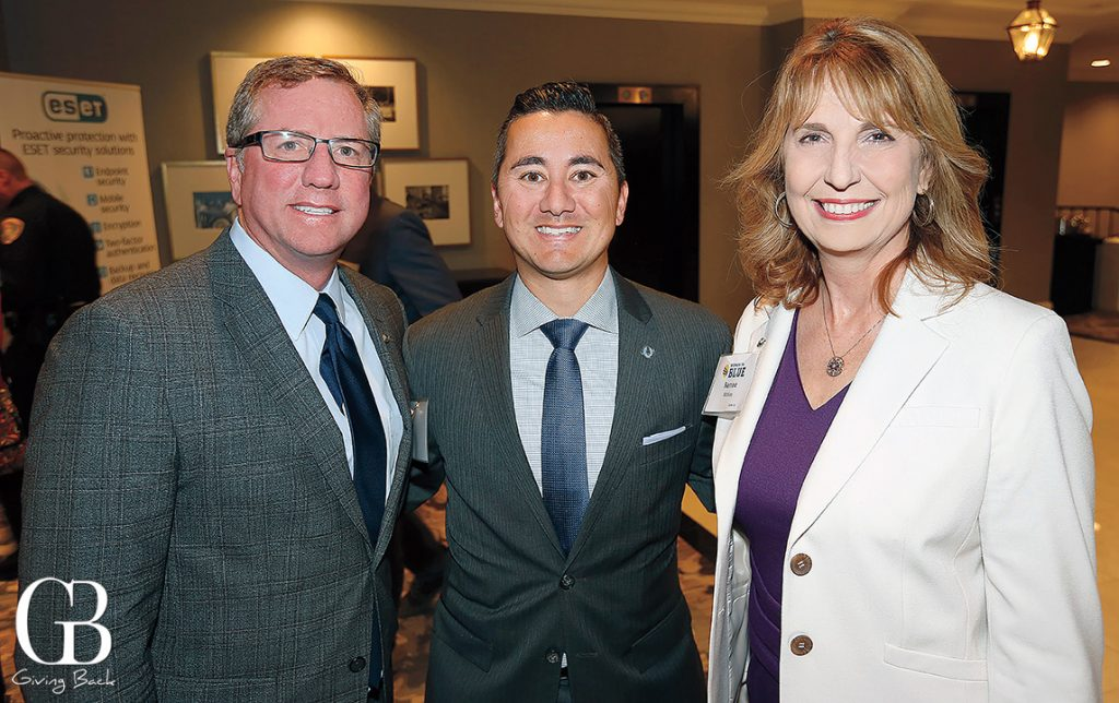 Todd Lane  Councilman Chris Cate and Rene McKee