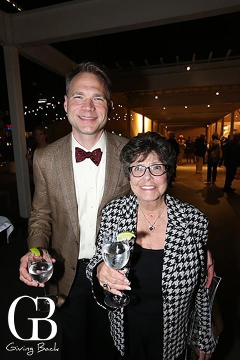Todd Schulz and Gloria Rasmussen