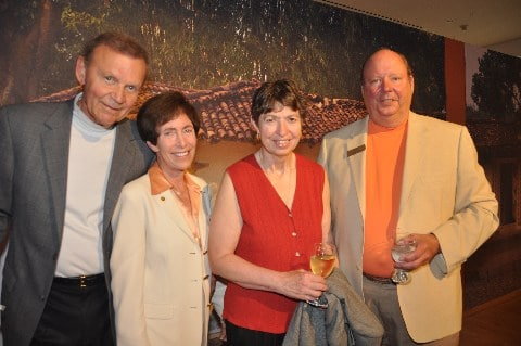 Tom and Cindy Goodman, Marye Anne Fox and Jim Whitesell.JPG