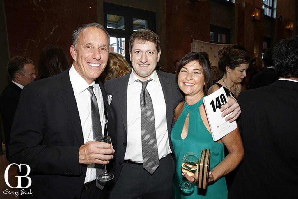 Tom Franco  Chris Muto and Raquel Dickert