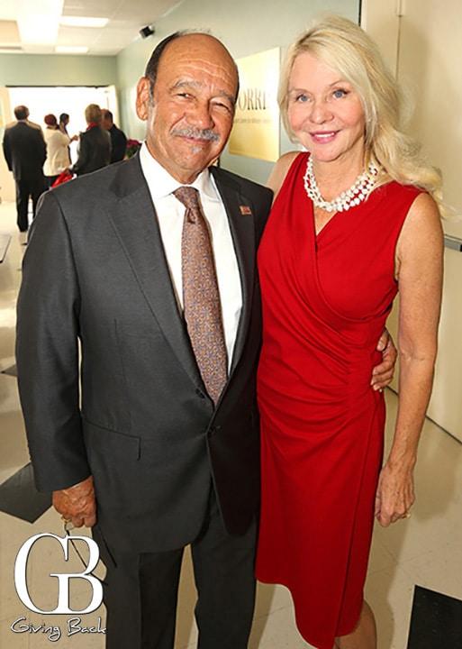 Tom Garcia and Kathryn Vaughn