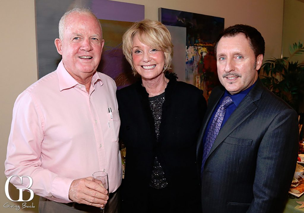 Tom Hazard  Sharon Smith and Vince Heald