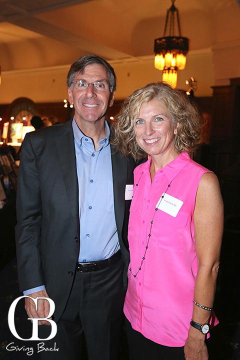 Tom Savides and Wendy Buchi