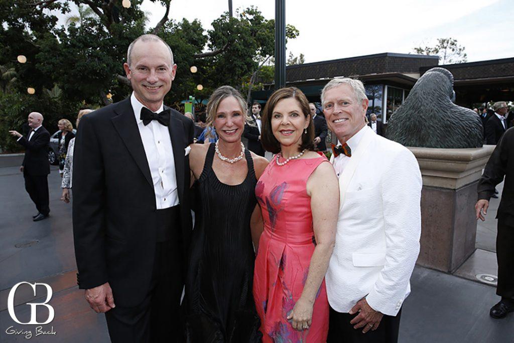 Tom and Carol Diggs with Grace and David Cherashore