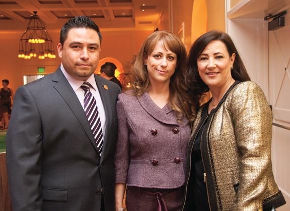 Tomas and Josie Valles with Maira McKellogg