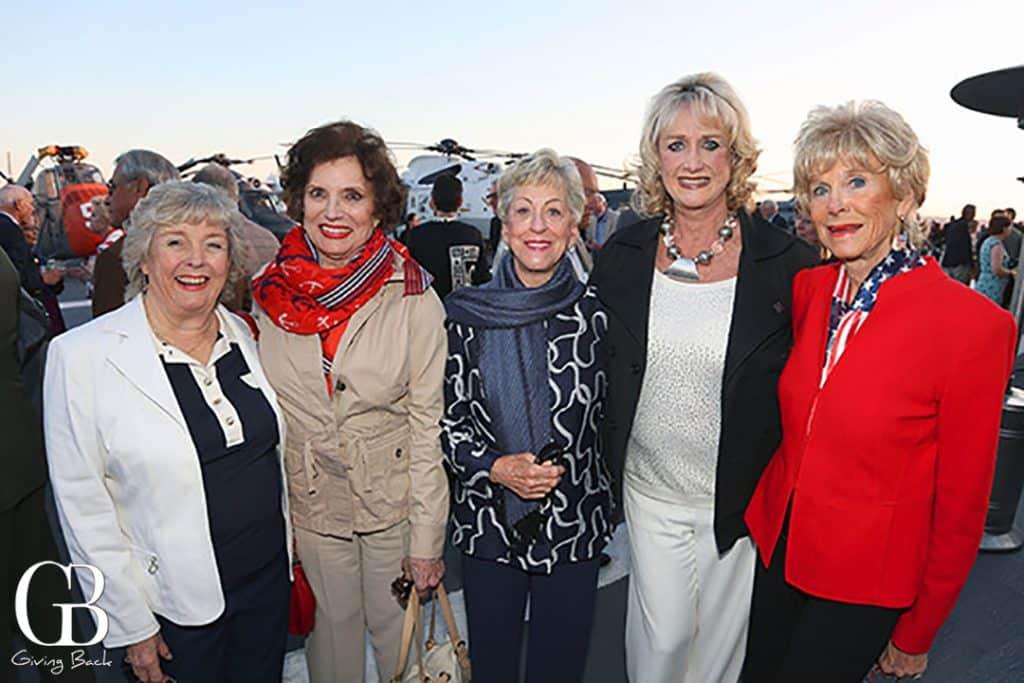 Tommi Adelizzi  Karen Clotfelter  Roberta Burnham  Rosemarie Rodger and Marilyn Fletcher