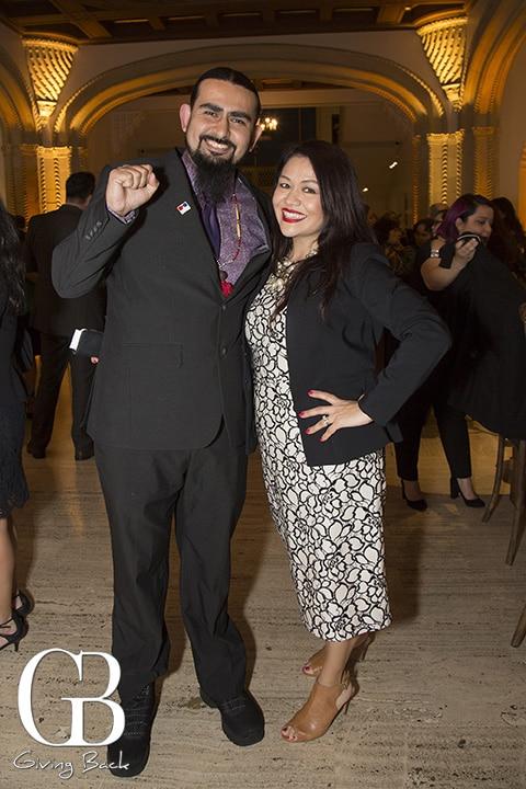 Tommy Ramirez and Feliza Ortiz Licon