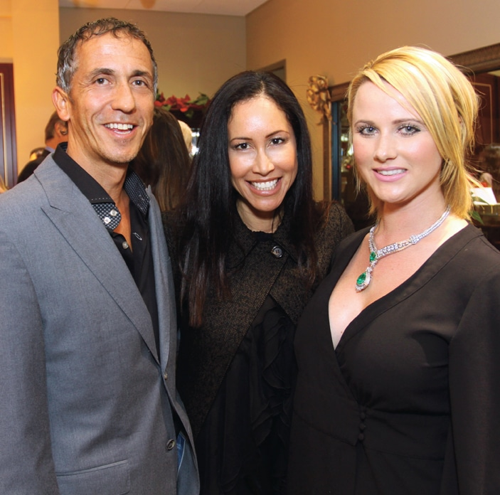 Tony and Bianca Macaluso with Melissa Williams.JPG