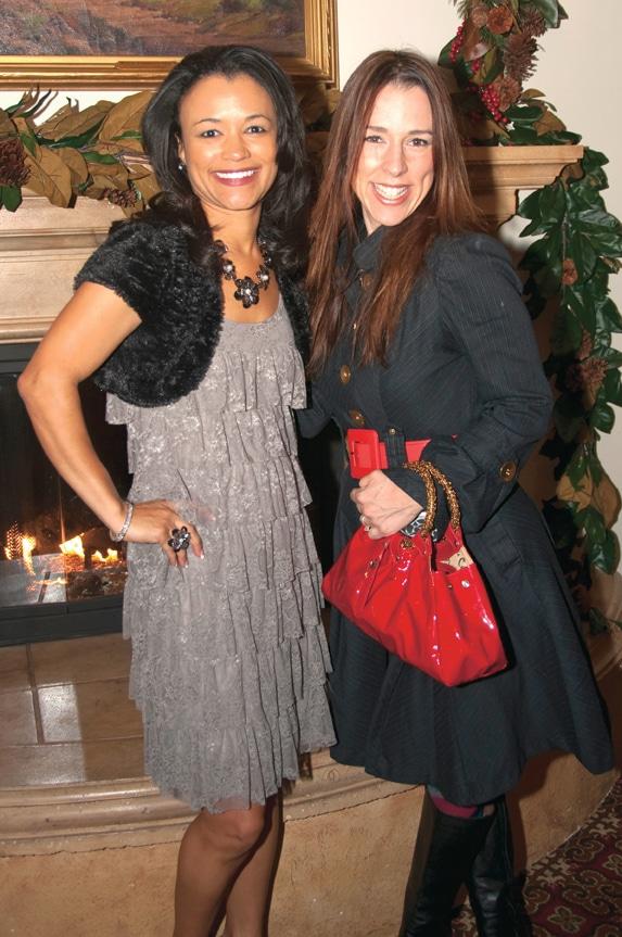 Tracey McCotter and Cristiane Valdez