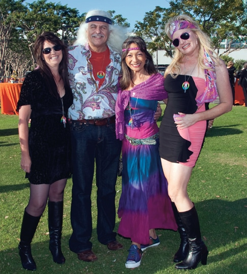 Tracy Cabral, Bill and Evelyn Lamden and Megan Pogue