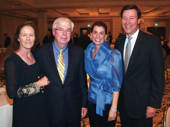 Tracy and John Downing with Maureen and Bob Bauchman.JPG