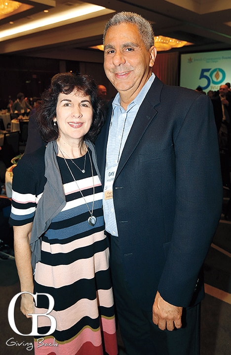Tracy and Gary Hirschfeld