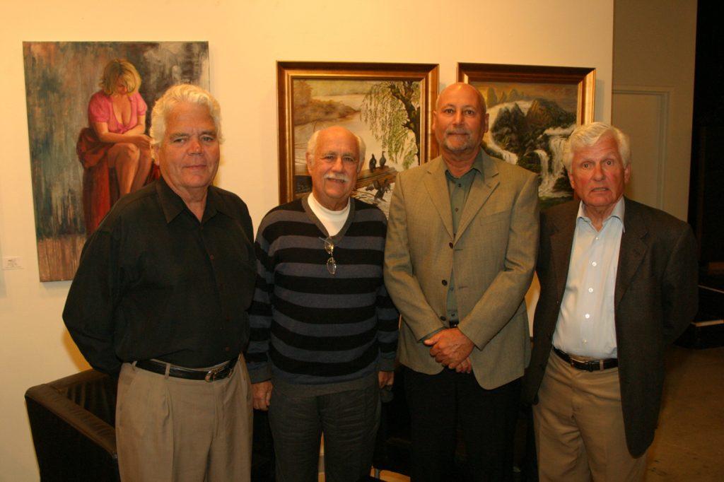 Travis Burleson, Richard Werby, Tom Iles and Peter Dean.JPG