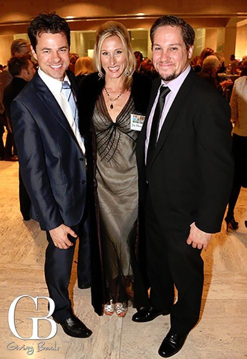 Travis and Joy Houston with Mike Esposito