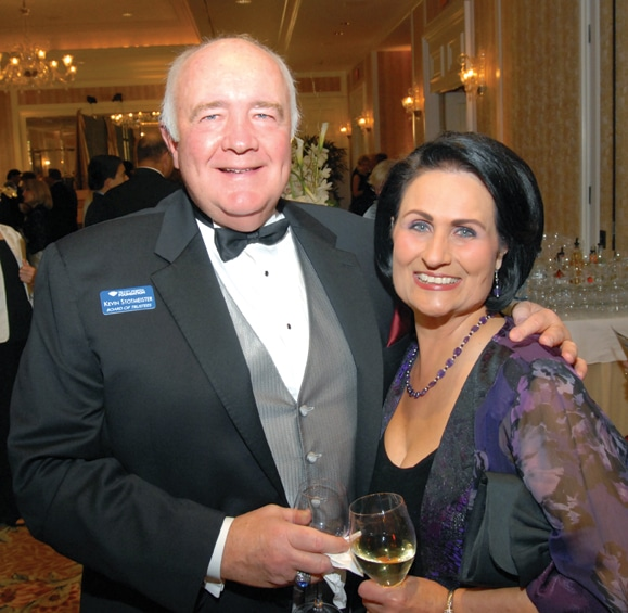 Tri City Hospital Foundation Chairman Kevin Stotmeister and wife Ellen